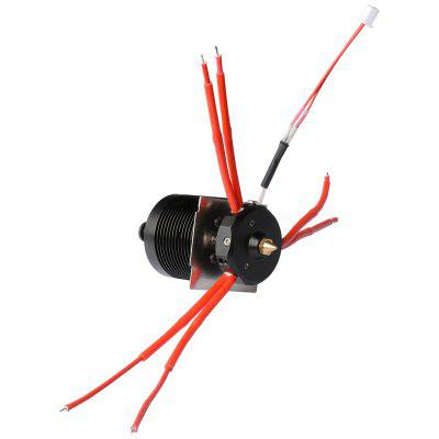 3D Printer Clogged Nozzle For A10T A20T 3D Printer Avoid Clogged 1.75mm Filament 0.4mm Extruder
