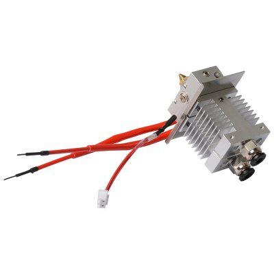 3D Printer Clogged Nozzle For A10M A20M 3D Printer Avoid Clogging 1.75mm Filament 0.4mm Extruder