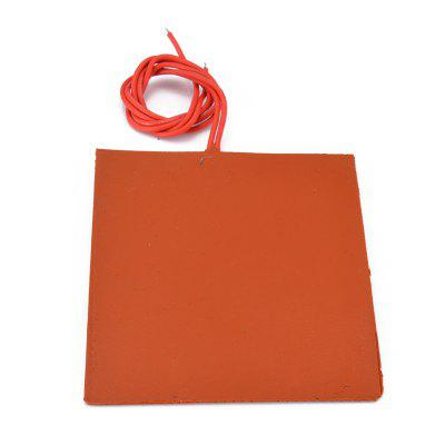 Silicone Heated Bed Flexible Waterproof 3D Printer Parts Heating Pads