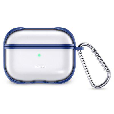 Clear Transparent Case for AirPods Pro with Keychain Hook Up Cool Protective Cover For AirPods 3