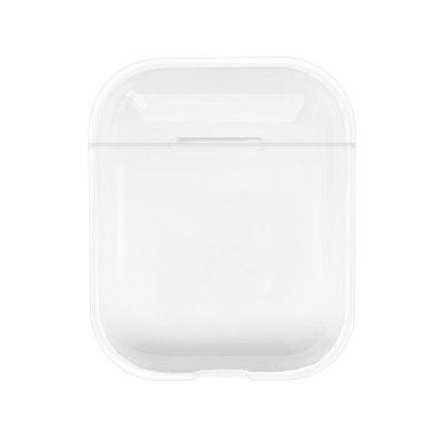 New Transparent Wireless Earphone Clear Charging Cover Bag for AirPods 1 2 3