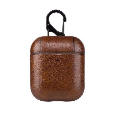 Protective Bag Leather Sleeve Cover Cool Case Storage Earphone Portable For AirPods