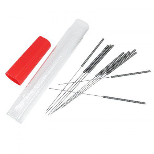 1 set Stainless steel nozzle cleaning needle 0.2//0.3//0.4mm for 3D printer tool
