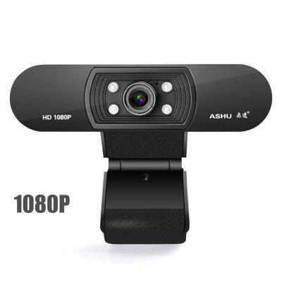 1080P Webcam HD Web Camera with Built-in HD Microphone 1920x1080p USB Camera Widescreen Video