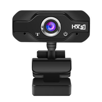 HD Webcam Desktop Laptop Webcam 720P CMOS Sensor with Built-in Micro Video Calling Webcam Online