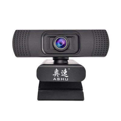 Webcam USB Web Camera Digital Full HD 1080P with Microphone Clip-on 2.0 Megapixel CMOS PC Camera