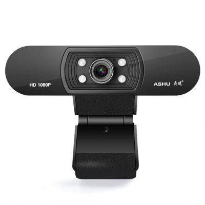 Best Webcam 1080p HDWeb Camera Built-in HD Microphone 1920x1080p USB Connector for Wearable Devices