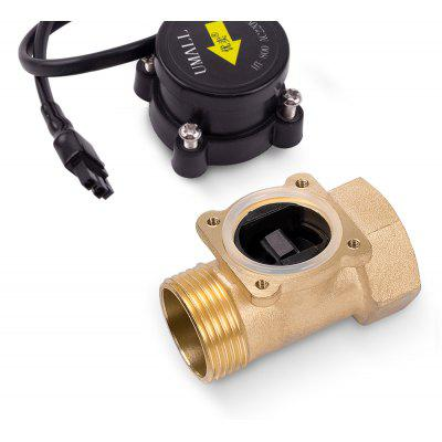 HT800 Water Pump Flow Sensor Switch Liquid Booster Solar Heater Brass Magnetic Pressure Automatic