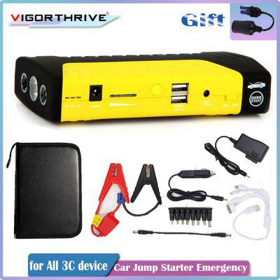 Car Emergency Booster Jump Starter Mini 12V 600A Power Bank Portable Starting Device