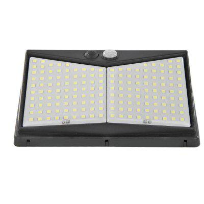 Solar 208 LED PIR Motion Outdoors IP65 Waterproof Solar Garden Lights Security Light Solar Wall Lamp