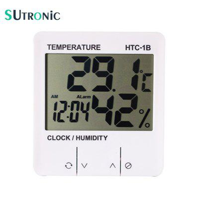 HTC-1B Electronic Temperature Humidity Meter Indoor Digital Thermometer Hygrometer