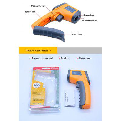 Top Quality Non contact Digital Laser Infrared Pyrometer Thermometer GS320 IR Laser Point
