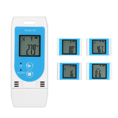 USB Temperature Humidity Data Logger Reusable RH TEMP Datalogger Recorder Humiture Recording Meter
