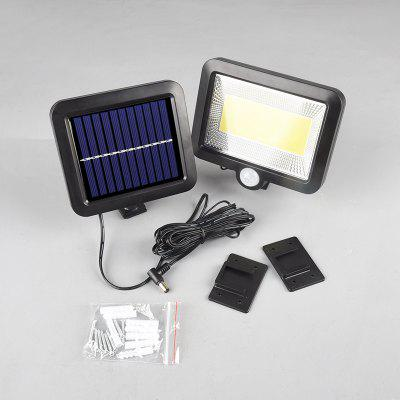 20W LED Solar Power Pir Security Lights Garden Path Lamp