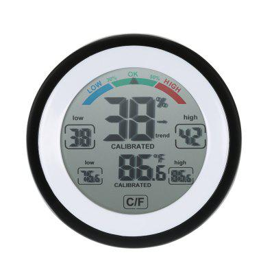 Multifunctional Thermometer Display Maximum And Minimum Value Touch Temperature Humidity Instrument