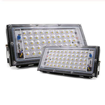 2pcs LED Flood Light 50W 220V 240V Floodlight IP65 Waterproof Outdoor Wall Reflector Square