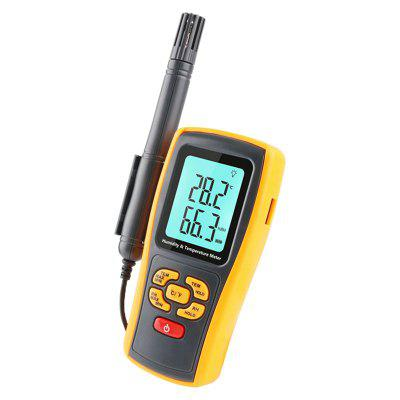 Professional Digital Thermometer Hygrometer K-type Thermocouple LCD Humidity Meter USB Data Logger