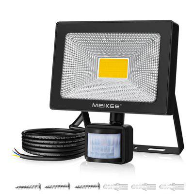 50w LED Floodlight with Motion Sensor Waterproof Outdoor Projector Lamp