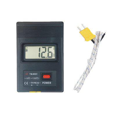 GearBest coupon: K-type TM902C Digital Thermocouple Thermometer -50C to1300C For Lab Factory