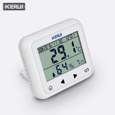 Wireless LED Display Temperature and Humidity Sensor Detector