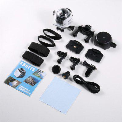 360 Degree Wifi 2448P 30FPS 16M Film Virtual Webcam Camera for Virtual Glass VR Action Sport