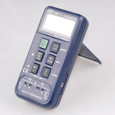 Data Logger Thermometer Thermocouple Data Logging K and J Thermometer TES-1307