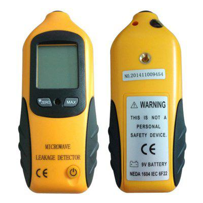 Portable Radiation Dosimeter Pyrometer Digital LCD Microwave Leakage Leaking Tester