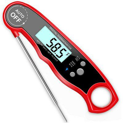 Digital Meat Thermometer Calibration IP67 Waterproof Instant Read Tool with Backlight