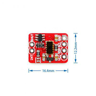 50Hz 3.3-5v VL53L1X Laser Ranging Photoelectric Sensor Module 4cm-4m Ranging Module Sensor Board