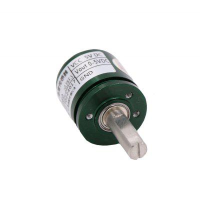 DC 5V Hall Effect Angle Sensor Non contact Industrial 0-360 Degree Rotation Angular Sensor