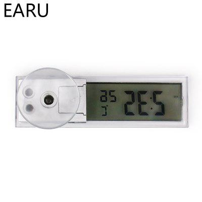 Mini Weather Station Automotive Thermometer Digital Car Temperature Instrument