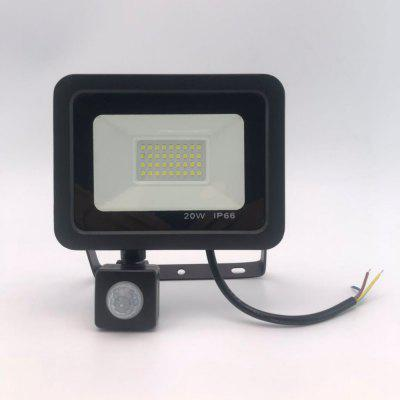 50w LED Floodlight With Adjustable PIR Sensor SMD 2835 Floodlights Outdoor Lighting