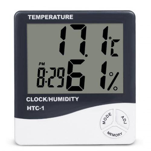 Digital LCD Indoor//Outdoor Thermometer Hygrometer Meter Temperature Humidity、RDR