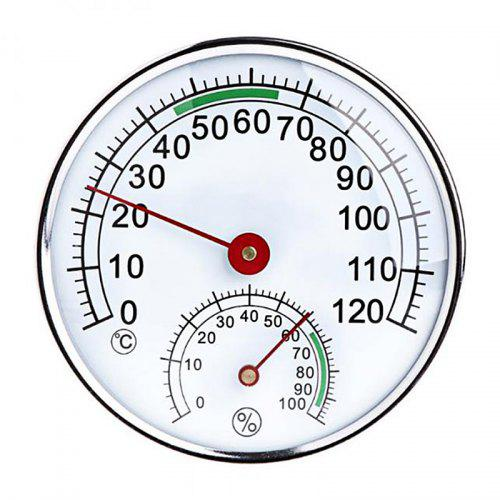 Large Round Outdoor Indoor Window Temperature Thermometer Weather Station Tool