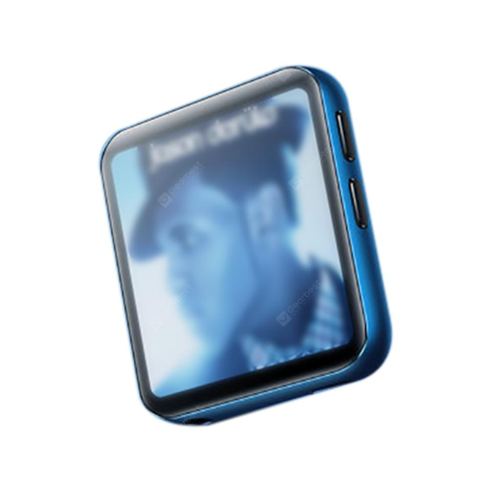 Mini Clip MP3 Player Bluetooth with 1.5 inch Touch Screen Portable MP3 Music Player for Running