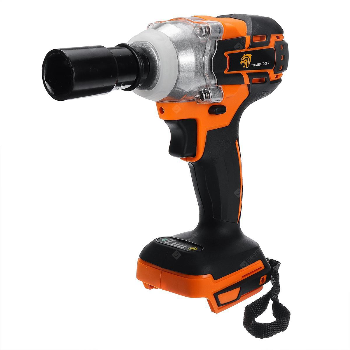 520 N.m Brushless Impact Wrench Driver Tool for Makita DTW285Z 18V