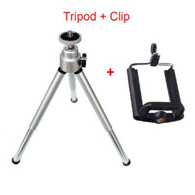 Flexible Mini Aluminum Tripod Stand For Mobile Smartphone
