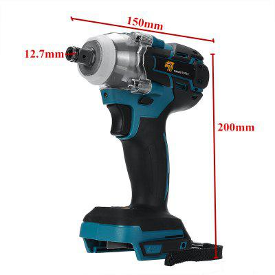 18V Electric Rechargeable Brushless Impact Wrench Cordless Wrench Power Tool