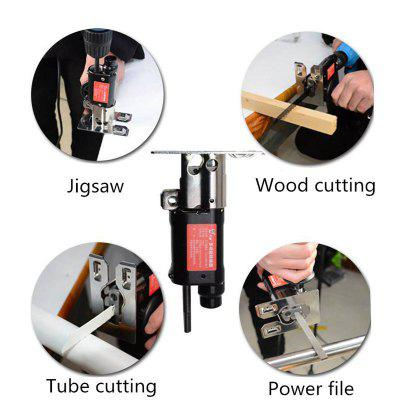 Reciprocating Saw Attachment Change Electric Drill Metal File For Wood Metal Cutting