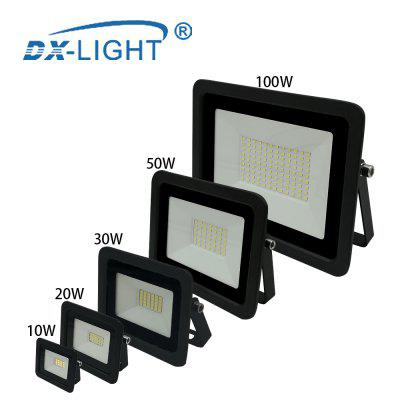 Ultra-thin 30W LED Flood Light 110V Floodlight Spotlight IP68 Waterproof Outdoor Garden Lamp