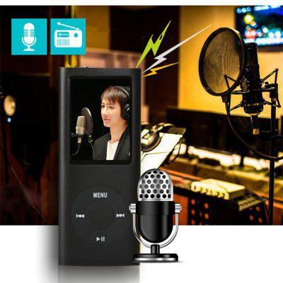 HiFi MP3 Music Player Radio FM Recorder Clip USB Aux with Speaker