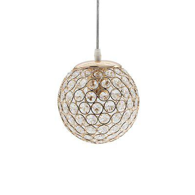 E27 Modern Nice Pendant Lights Round Ball Crystal D15CM Pendant Lamps