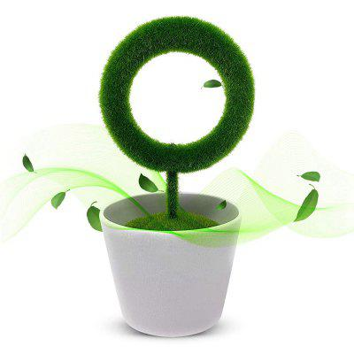 Creative Plant Shaped Air Purifier For Allergies Smoke Dust Pollen Pm2.5 Cleaner