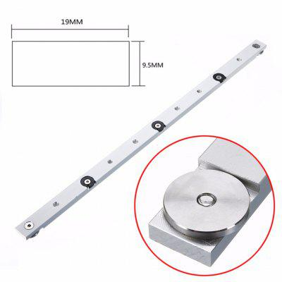 1pc 18 Inch 450mm Miter Bar Aluminium Alloy Slider Table Saw Miter Gauge Rod For Power Tools