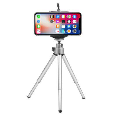 Mini Flexible Tripod for iphone Samsung Xiaomi Huawei with Phone Clip Tripod Stand for Mobile Phone