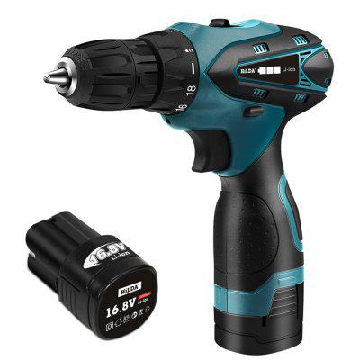 16.8V LED Electric Screwdriver Battery Screwdriver Cordless Drill Power Impact Driver Drill Tools
