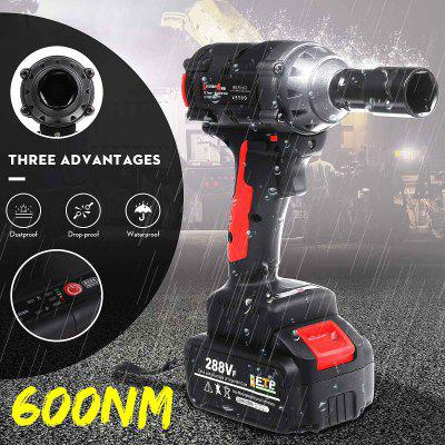 600Nm High Torque 288VF 19800mAh Waterproof Brushless Wrench Cordless Electric Impact Drill