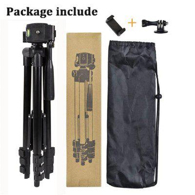 Mobile Phone Tripod Stand 40 inch Universal Photography for Gopro iPhone Samsung