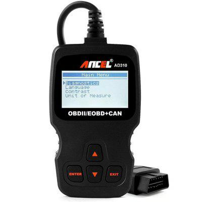 Ancel AD310 OBD2 Automotive Scanner Car Code Reader Diagnostic Tool
