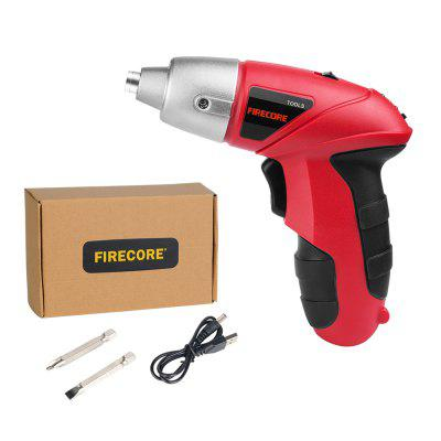 3.7V Mini Cordless Drill USB Rechargeable Wireless Hand Electric Screwdriver 45Pcs DIY Power Tool